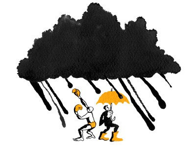 Accept the weather - The Guardian - 'The weather may be grim, but let's learn to enjoy it